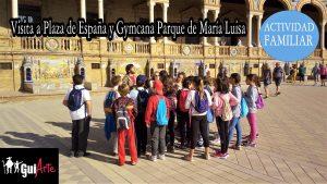 Plaza España y Gymkana Parque de Maria Luisa @ Plaza España, junto al Monumento a Aníbal González | Sevilla | Sevilla | España
