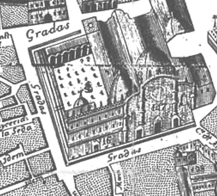 Detalle Plano Olavida Catedral
