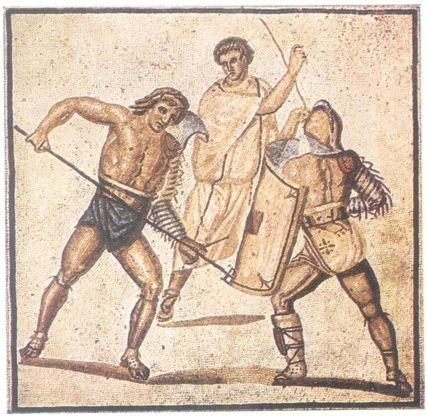 Mosaico Gladiadores Nenning sIII